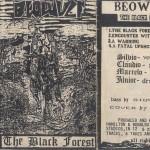 Beowulf - Black Forest (1992) CONTRATADO